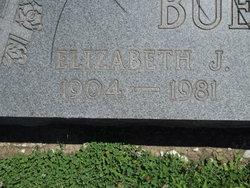 Elizabeth J <I>Whitesides</I> Buell