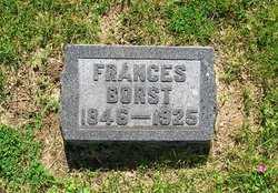 Frances <I>Snyder</I> Borst