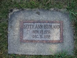 Betty Ann Hedland