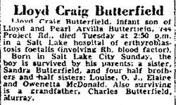 Lloyd Craig Butterfield