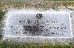 Ambrose B Peter