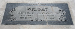 """Marion Oliver """"Mo"""" Wright"""