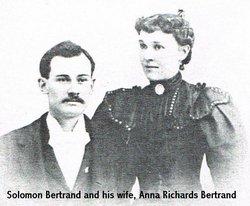Anna <I>Richards</I> Bertrand