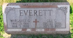 "Margaret Genevive ""Marge"" <I>O'Neill</I> Everett"