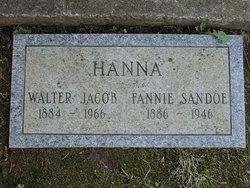 Fannie <I>Sandoe</I> Hanna
