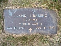 Frank J Bambic