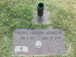 Virginia <I>Shuler</I> Addington