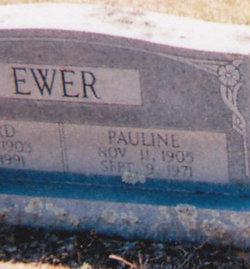 Matilda Pauline <I>Stephenson</I> Ewer