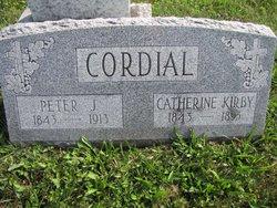 Catherine <I>Kirby</I> Cordial