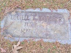 "Lucille ""Lizzie"" <I>Tuggle</I> Fletcher"