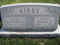 Margaret Ellen <I>Clark</I> Kirby