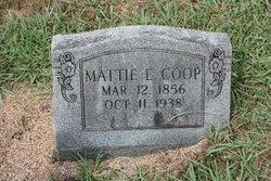 Mattie Elizabeth <I>Hicks</I> Coop