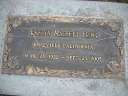 Evelyn <I>MacBeth</I> Frink