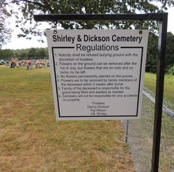 Shirley and Dickson Cemetery