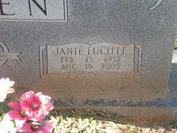 Janie Lucy <I>Phipps</I> Allen