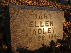 Mary Ellen <I>Roundy</I> Hadley