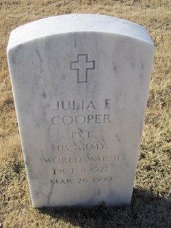Julia E Cooper