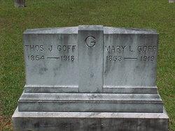 Mary Louisa <I>Holland</I> Goff