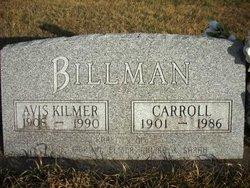Avis Alma <I>Kilmer</I> Billman