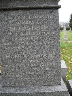 Mary Ann Inskip