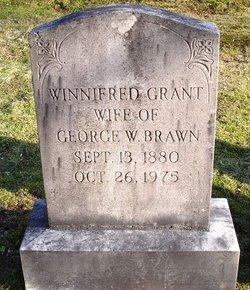 Winnifred <I>Grant</I> Brawn