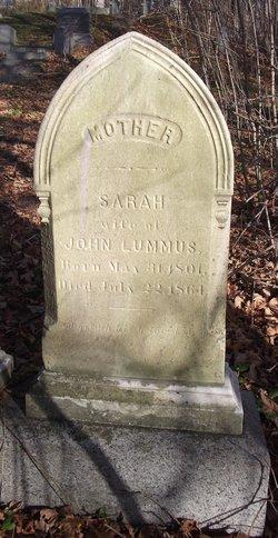 Sarah E. <I>Lord</I> Lummus