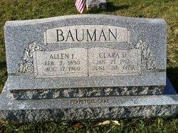 Allen Elmer Bauman