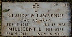 CWO Claude Waldy Lawrence