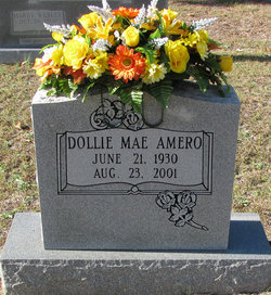 Dollie Mae <I>Troutman</I> Amero