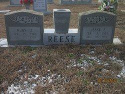 Ruby Orene <I>Johnson</I> Reese