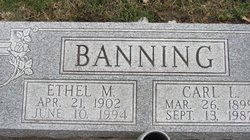 Ethel May <I>Chism</I> Banning