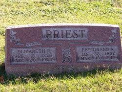 Elizabeth R. <I>Mahoney</I> Priest