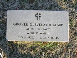 Grover Cleveland Alsup