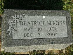 Beatrice <I>Marsh</I> Ross