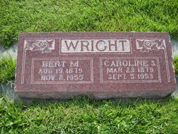"Caroline Julia ""Carrie"" <I>Swensen</I> Wright"