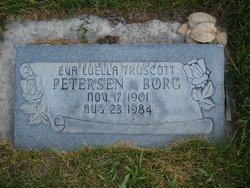 Eva Luella Truscott <I>Peterson</I> Borg