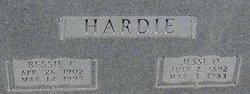 Bessie Cheba <I>Nicholas</I> Hardie