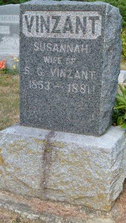 Susannah <I>Hashman</I> Vinzant