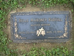 Catherine Belle <I>Maroney</I> Rudisill