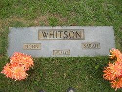 Sarah Francis <I>Lollar</I> Whitson