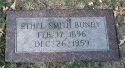 Ethel <I>Smith</I> Bundy