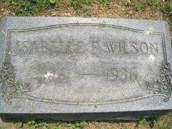 Isabelle F Wilson