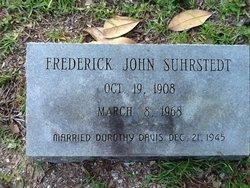 """Frederick John """"Fritz"""" Suhrstedt"""