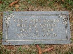 Vera Ann <I>Clodfelter</I> Baker