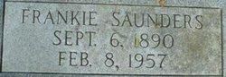 "Frances ""Frankie"" <I>Saunders</I> Adams"