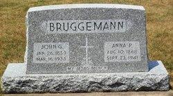 Anna Philemena <I>Deppe</I> Bruggeman