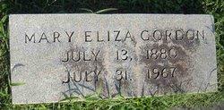 Mary Eliza Gordon