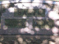 Phoebe M. <I>Lamphrey</I> Baker