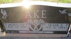 """Jacqueline Rosalie """"Jackie"""" <I>Wallis</I> Ake"""