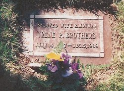 "Gertrude ""Irene"" <I>Patterson</I> Brothers"